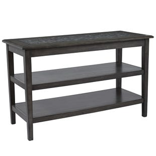 Jofran Mosaic Grey Sofa Table