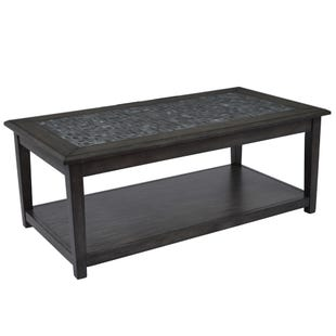 Jofran Mosaic Grey Lift Top Cocktail Table