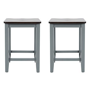 Asbury Park Gray Set of 2 Chairs