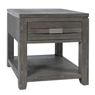 Altamonte Brushed Gray End Table