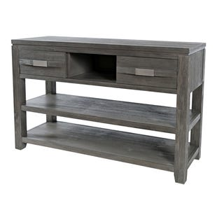 Altamonte Brushed Gray Sofa Table