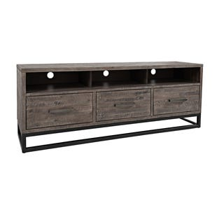 "East Hampton Distressed Wood/Metal 70"" TV Console"