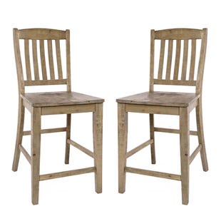 Carlyle Crossing Pine Set of 2 Chairs