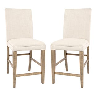 Carlyle Crossing Pine Set of 2 Fabric Chairs