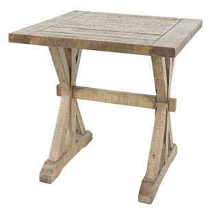 Carlyle Crossing Solid Pine End Table