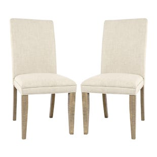 Carlyle Crossing Pine Set of 2 Upholstered Chairs