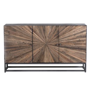 """Astral Plains Natural/Gray Wash 59"""" Console Table"""