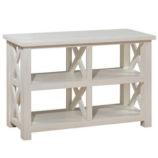 Jofran Madaket White Sofa Table