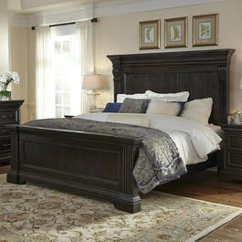Pulaski Caldwell Queen Panel Bed Weekends Only Furniture