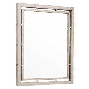 Pulaski Sutton Place Gray/Metal Mirror