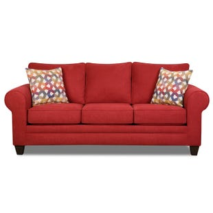La La Land Red Sofa