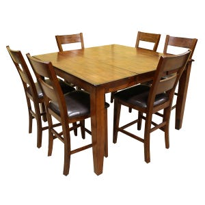 Holland House Emilie 7 Piece Counter Height Dining Set