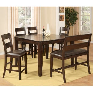 Ellie 6 Piece Counter Height Set