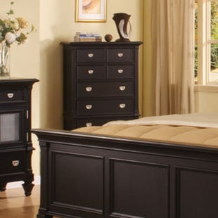 Summer Breeze Black 5-Drawer Chest