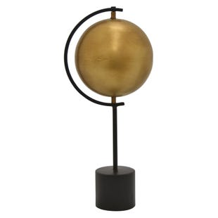 Gold Globe Table Top Decoration