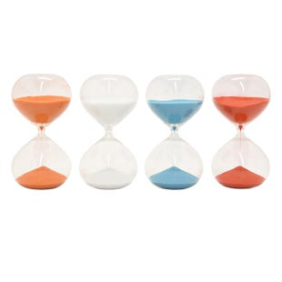 90 Minute Glass Sand Timer