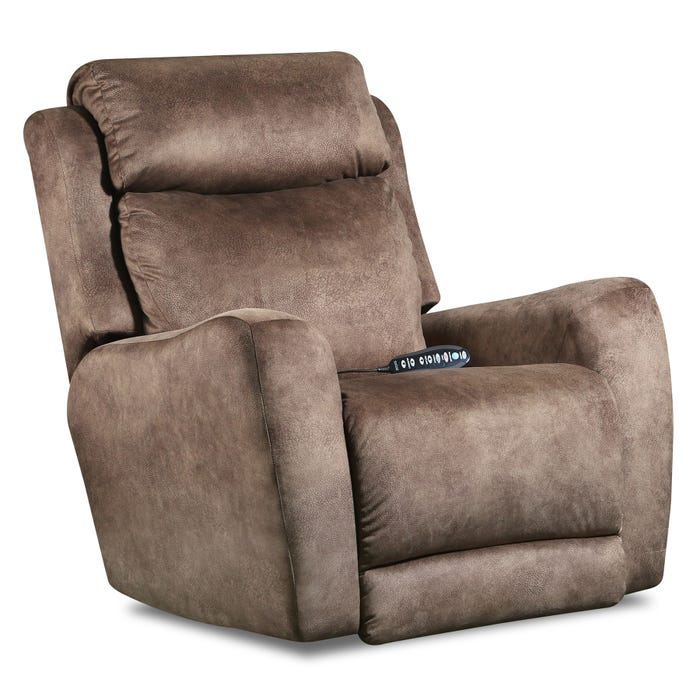 Outstanding View Point Socozi Brown Microfiber Power Recliner Pabps2019 Chair Design Images Pabps2019Com