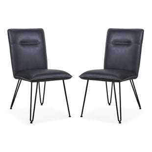 Kali Demi Set of 2 Side Chairs Cobalt