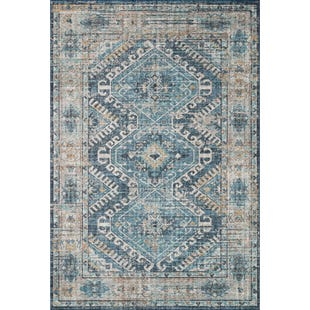 Sky Denim Natural 5x8 Rug