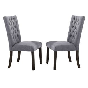 Tabello Set of 2 Gray Chairs
