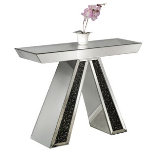 Desiree Mirrored Console