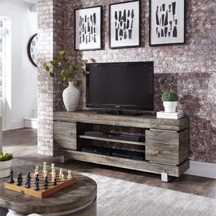 "Liberty Urban Living Solid Reclaimed Pine 72"" TV Console"
