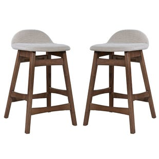 Liberty Space Tan Set of 2 Counter Height Stools