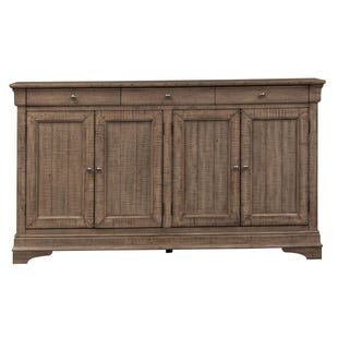 Galveston Brown 4 Door Sideboard