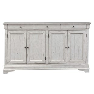 Galveston White 4 Door Sideboard