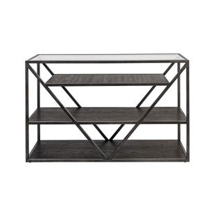 Liberty Urbana Glass/Metal/Wood Sofa Table
