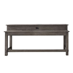Modern Farmhouse Neutral Brown Console Table