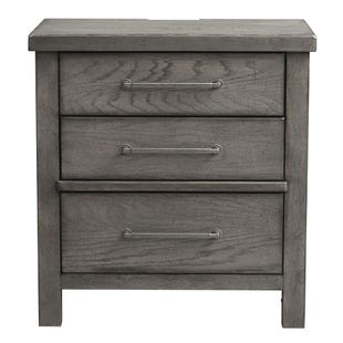 Modern Farmhouse Dusty Charcoal Nightstand