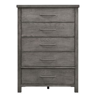 Modern Farmhouse Dusty Charcoal Chest