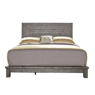 Modern Farmhouse Dusty Charcoal King Bed