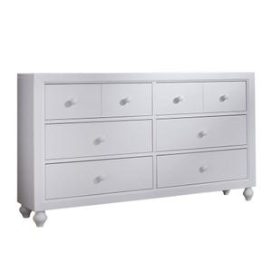 Liberty Cottage View White 6 Drawer Dresser
