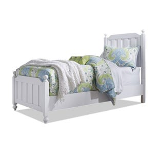 Liberty Cottage View White Twin Panel Bed