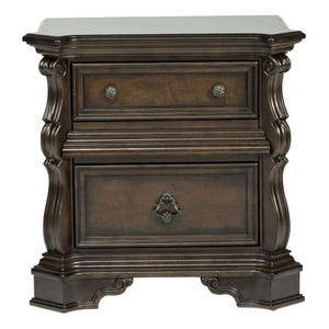 Liberty Arbor Place Brownstone 2 Drawer Nightstand