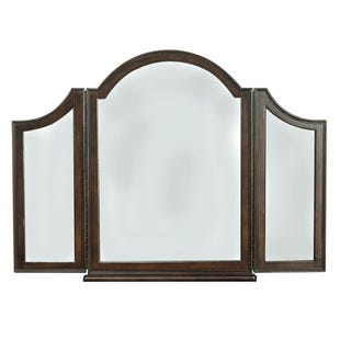Liberty Arbor Place Brownstone Vanity Mirror