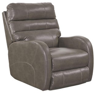 Catnapper Searcy Ash Faux Leather Power Recliner