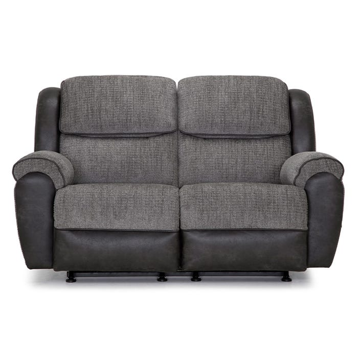 Admirable Gravity Gray Two Tone Rocking Reclining Loveseat Inzonedesignstudio Interior Chair Design Inzonedesignstudiocom