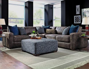 Emory 3 Piece Saddle Sectional