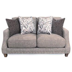 Franklin Cambridge Mocha Twill Loveseat