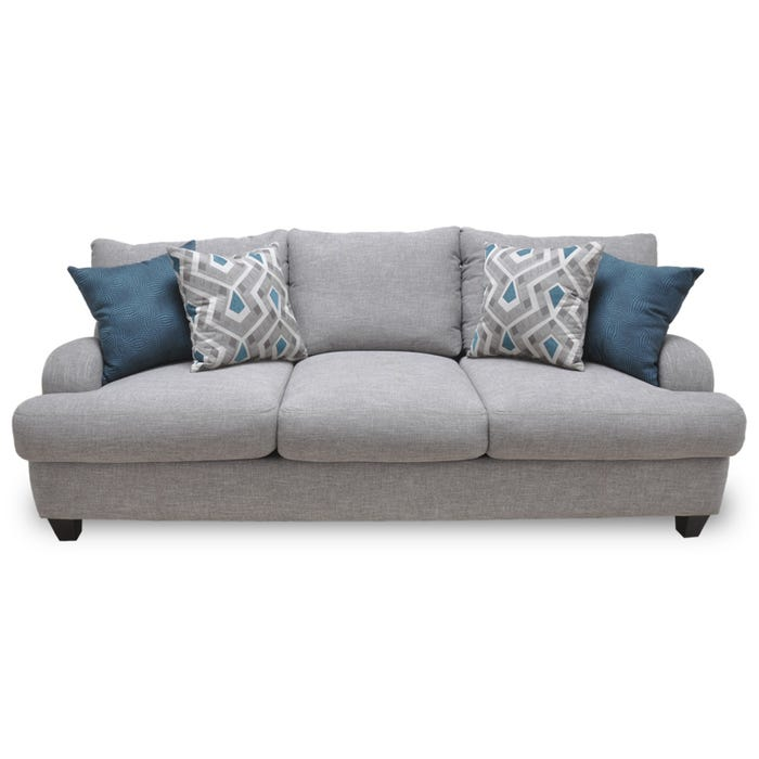 Swell Stylus Gray Twill Sofa Squirreltailoven Fun Painted Chair Ideas Images Squirreltailovenorg