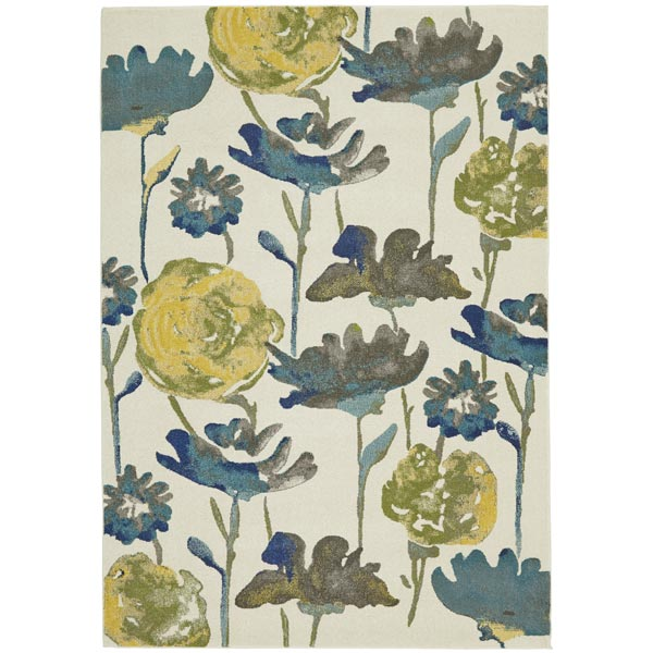 Floral 8 X 11 Area Rug Weekends Only Furniture