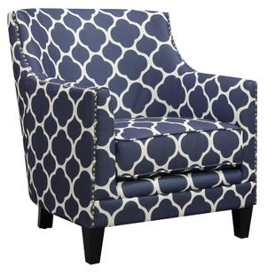 Dinah Blue Accent Chair