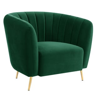 Delmar Emerald Accent Chair
