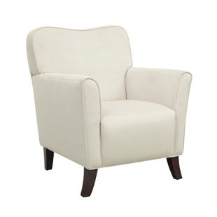 Elliot Cream Velvet Accent Chair