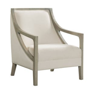Hopkins Cream Accent Chair