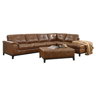Agnes Chestnut Sectional