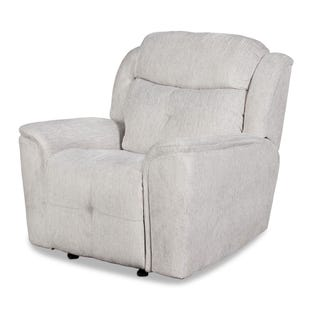 Havana Beige Glider Power Recliner